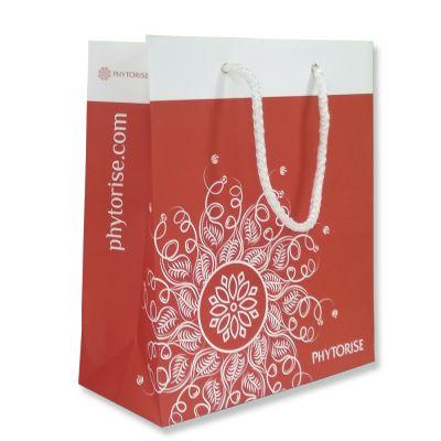 Пакет подарочный (230*260*100 мм, оранжевый)