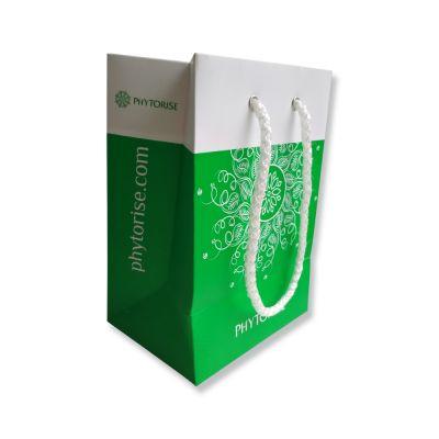 Пакет подарочный (125*175*90 мм, зеленый)