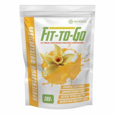 Протеиновый фитококтейль FIT-TO-GO (ваниль)