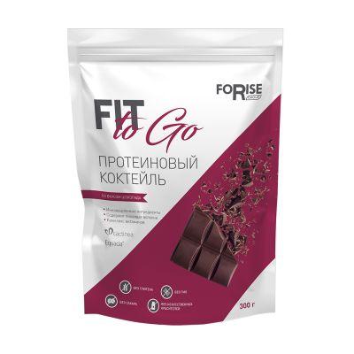 Протеиновый фитококтейль FIT-TO-GO (шоколад)